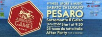 Confcommercio di Pesaro e Urbino - ADRIATIC GAMES FITNESS, SPORT & MUSIC ON THE BEACH